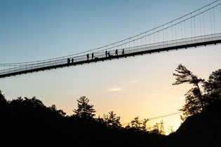 Pont suspendu du parc des Chutes-de-la-Chaudière