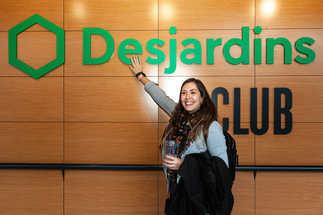 Conférence pour étudiant avec Desjardins - Pour Desjardins via La Commune Web - Centre Bell Montréal