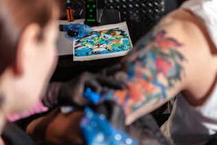 Artiste tatoueuse - Patty Ouellet - Québec
