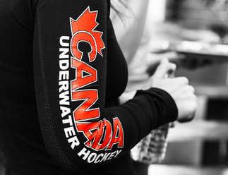 Coupe de monde de Hockey Subaquatique - Equipe Canada - Québec