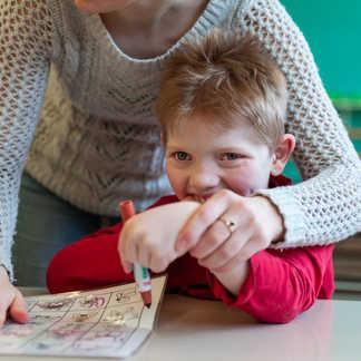 Activité Bingo langue des signes - École Anne-Hébert