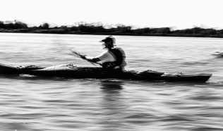 Flou artistique kayak
