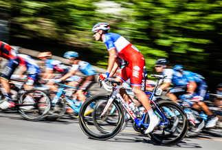 Flou artistique cyclisme