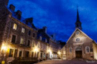 Eglise du petit champlai ville de Québec
