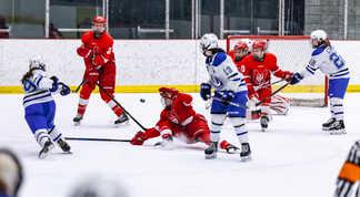 Final RSEQ Hockey féminin - Match 1 - Carabins de Montréal