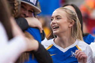 Victoire du Championnat Nationnal U Sports Volleyball Féminin - PEPS Québec
