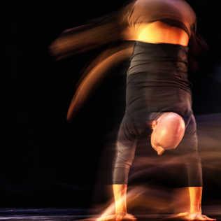 Flou artistique danse