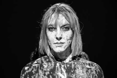 Portrait lors d'un enregistrement vidéo