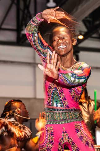 Show Troupe de danse africaine - Congrès CRHA - Agence Icone