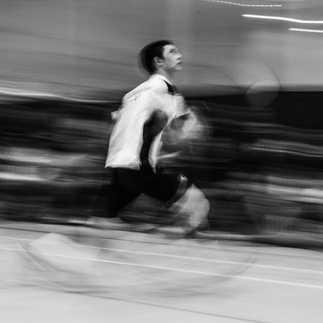 Flou artistique badminton