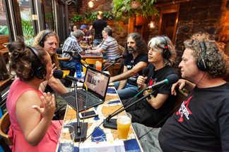Interview radio au Sacrilège pour le Festival d'Été de Québec - FEQ Québec - CKRL