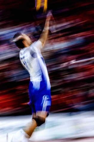 Flou artistique volleyball