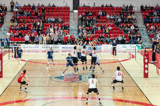 Championnat Nationnal U Sports Volleyball Masculin - Rouge et Or ULaval - PEPS Québec
