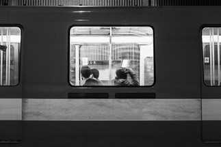 Scène de vie métro STM de Montréal