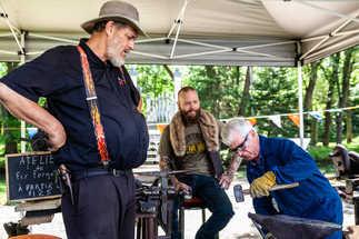 Atelier de Forgeron - Festival des Brasseurs et Artisants de Québec
