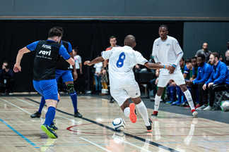 Match exhibition sélection soccer futsal masculin - Patrice Bernier et ses amis
