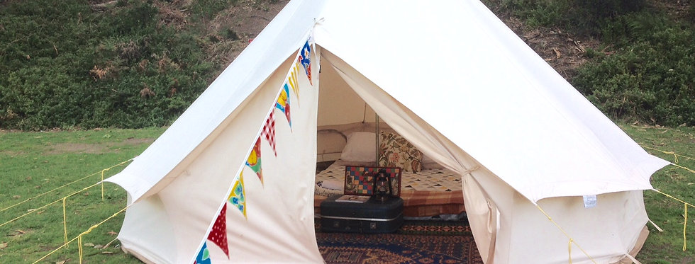 4M Bell Tents Glamping