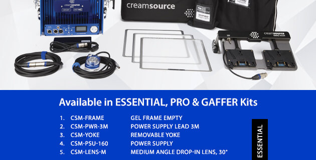 Creamsource Mini + (Gaffer Kit) rent