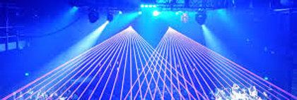 club laser projector