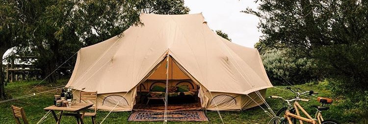 6M Emperor Bell Tent Glamping