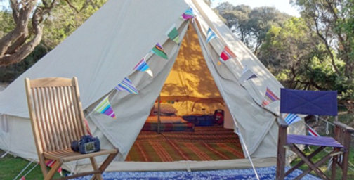 5M Bell Tents Glamping