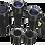 Thumbnail: DedoLight 4x100W 12V Complete kit ( Old Model )