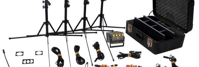 DedoLight 4x100W 12V Complete kit ( Old Model )