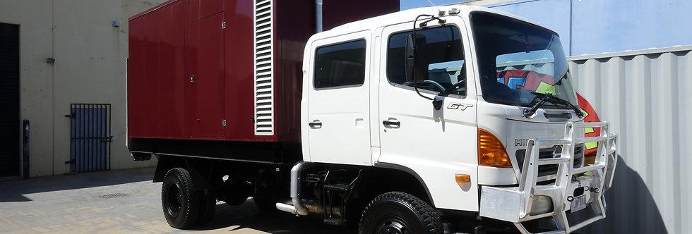 120kva Generator Truck (Film Silenced)