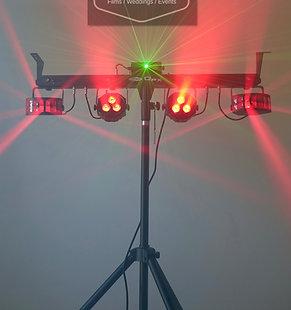 Dance Lights Set Showtec QFX