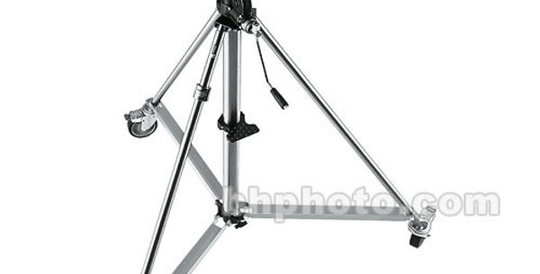 Avenger Super Wind-up 40 Stand with Braked Wheels (Stainless/Chrome-plated, 12.6 Rental