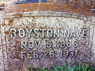 Royston's Headstone