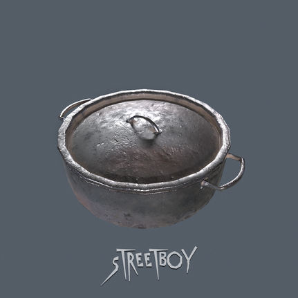 Street Boy Dutch Pot