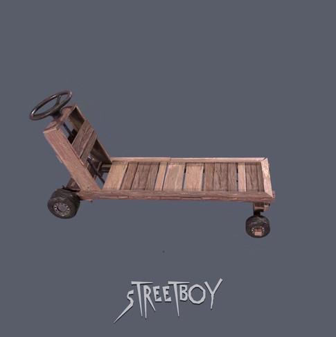 Street Boy Hand Cart