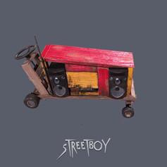 Street Boy Handcart