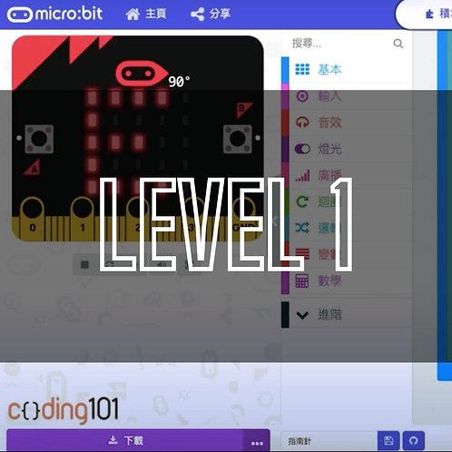 Micro:bit Lvl 1: Start Learning To Code