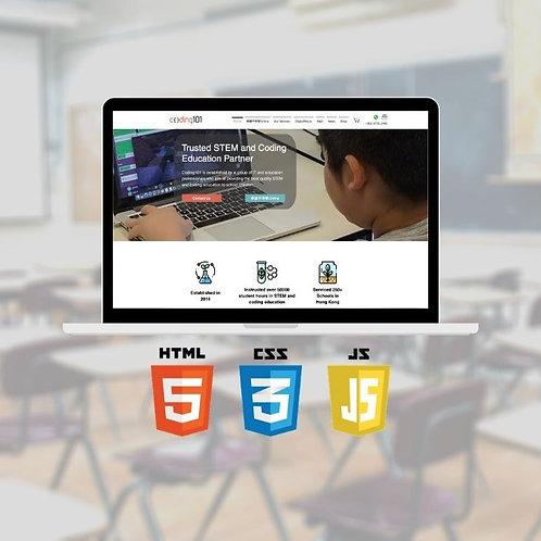 Web Design (3 hrs/lesson)