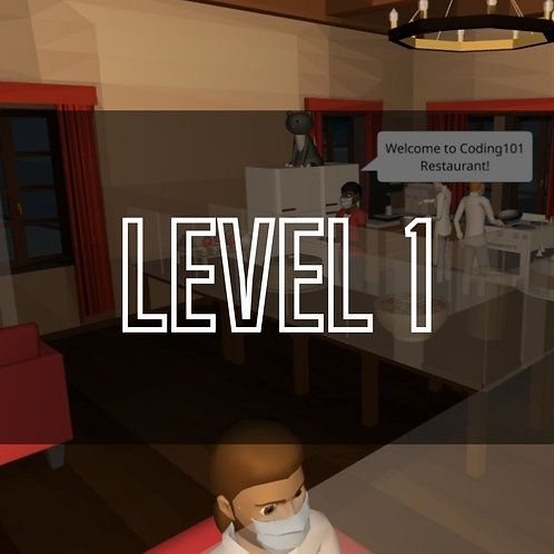 CoSpaces VR Lvl 1