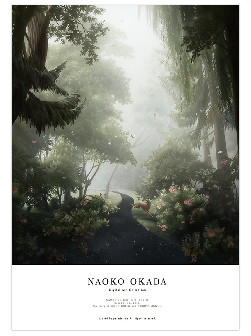 NAOKO OKADA Digital Art Collection 2015-2017