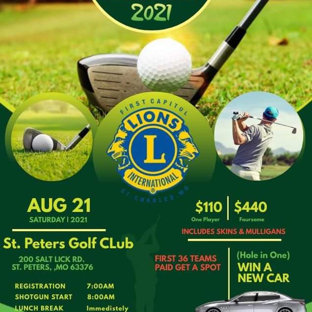2021 First Capitol Lions Golf Tournament