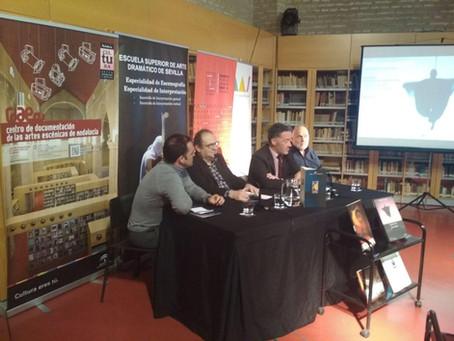 Conférence au centre de documentation du spectacle vivant (Séville)