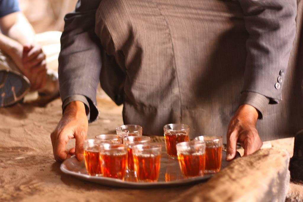 Shy- sweet Bedouin tea