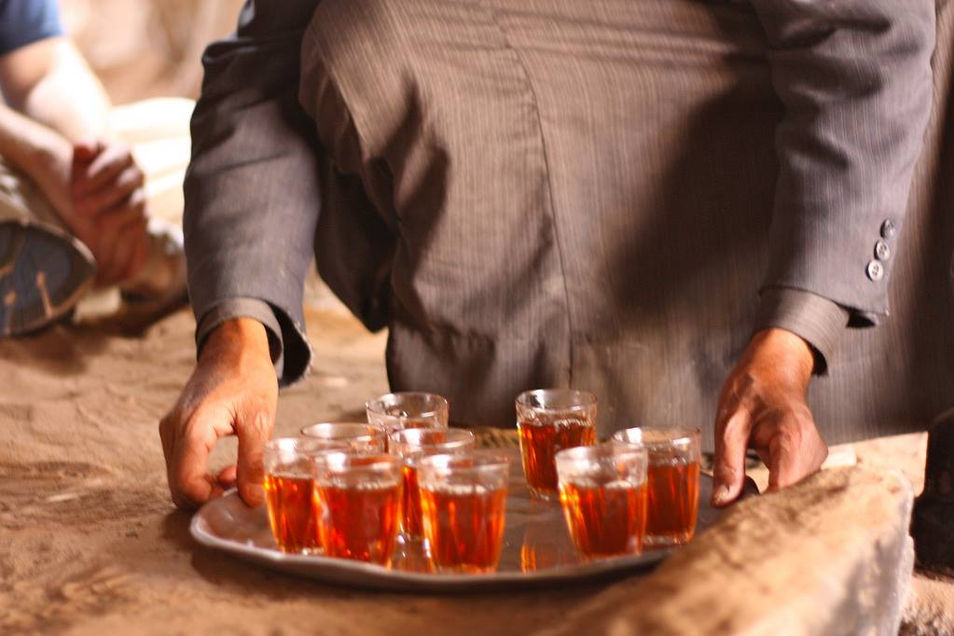 Shy- sweet Bedouin tea
