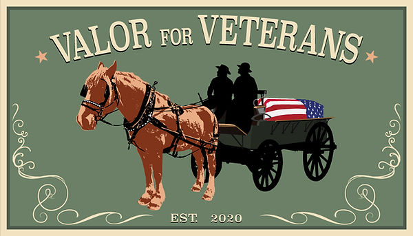 Valor for Veterans Business Card Front V