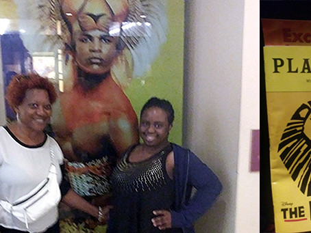 Lion King Event with Essienanwan and staff Sharon Nelson – Sept 15, 2018
