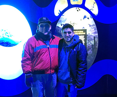 Alex had a magnificent time at the National Geographic Encounter, Ocean Odyssey