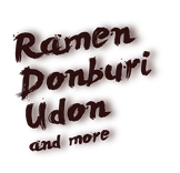 We offer ramen, donburi, udon and more