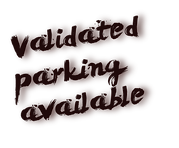 validated parking available