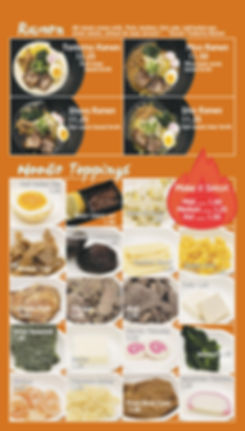 suehiro ramen menu