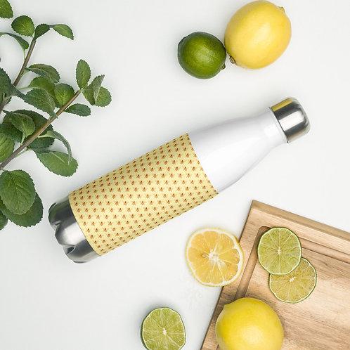Bee Stainless Steel Water Bottle