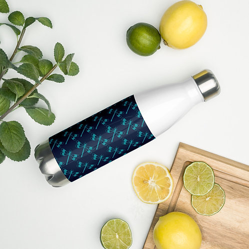 Dragonfly Stainless Steel Water Bottle